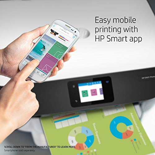 All in Printer with Wireless HP Instant Amazon ready - White