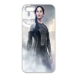 iPhone 5 5s Cell Phone Case White The Hunger Games Catching Fire Katniss Uaaci