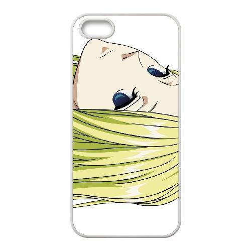 Z7D46 Arakawa sous le pont nino manga U8B0LO coque iPhone 4 4s cellulaire cas de téléphone couvercle coque de DH8EAP0SH blanc