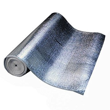 4' x 50' Infrared Blocker Thermal Heat Shield Reflector 50 ft Roll by Gotham Hydroponics