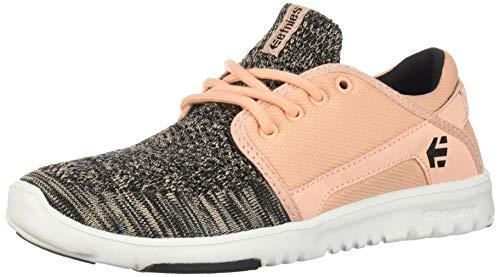 Etnies Women's Scout YB W's Skate Shoe, Pink/Black, 7 Medium US