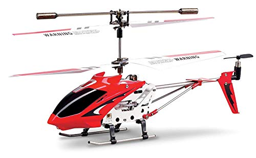 RC 2nd Edition S107 S107G New Version Indoor Helicopter,Red