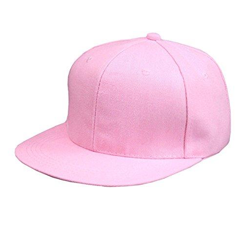 Donna Pierce Snapback Caps Blank Hip Hop Hats Customized Net Baseball Caps Printing Adult Hats Casual Peaked Hat 10pcs/lot pink