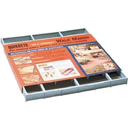 Form-running Bond Brick Pattern Concrete Stamps, Forms & Mats Quikrete 6921-33 Brick Walk Maker