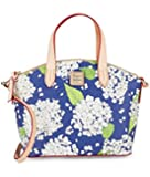 Dooney & Bourke Hydrangea Satchel Handbag
