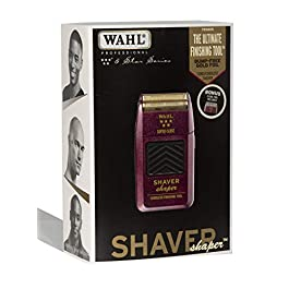 Wahl Professional 5-Star Series Rechargeable Shaver/Shaper #8061-100 with Bonus Five Star Series #7031-300 Close Replacement Foil Assembly
