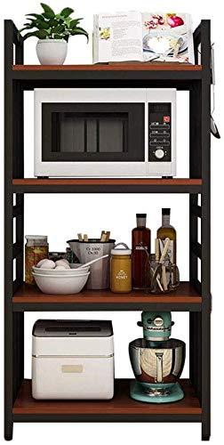Inicio Moda Simplicidad Estante de Cocina Floorstanding 4 Capas ...
