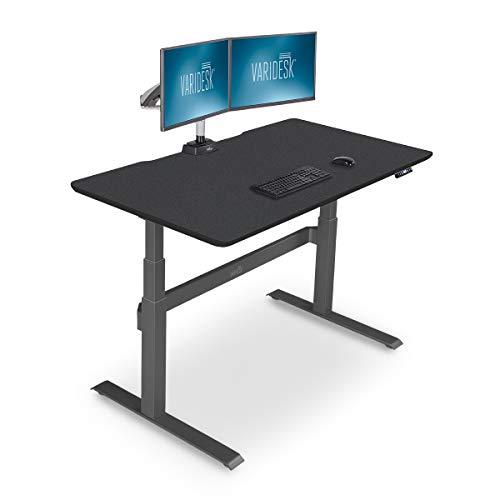 VARIDESK - Full Electric Desk - PRODESK 60 Electric Black - 3-Button Memory Settings