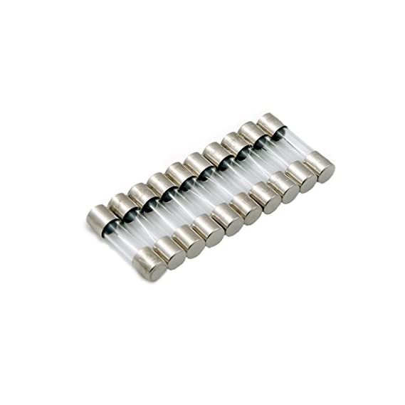PROTECTRON FAST BLOW 5X20mm GLASS FUSE - 10A ( PACK OF 10)