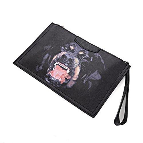 Aoligei Dessin animé d'impression mode enveloppe fille sac sac à bandoulière Baotan B