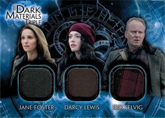 Thor Dark World DMT-5 Costume Memorabilia Card Jane Foster, Darcy Lewis & Erik]()