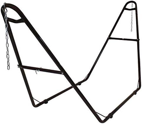 Sunnydaze 550-Pound Capacity Universal Multi-Use Heavy-Duty Steel Hammock Stand