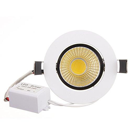 JCHUNL 6W dimmbare COB LED Deckeneinbauleuchte 220V New Hot Hot Hot (Farbe   Cool Weiß) B07NV9B528 | Spaß  cfd231