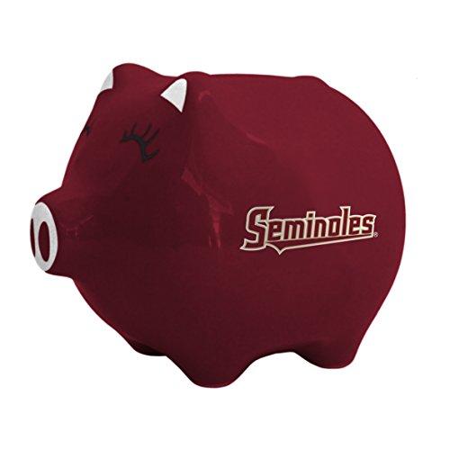 Boelter Brands NCAA Florida State Seminoles Ceramic Piggy Bank