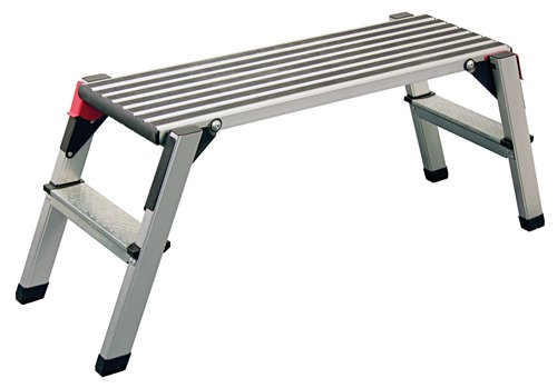 Nesco Tools 9534 Folding Aluminum Step Platform
