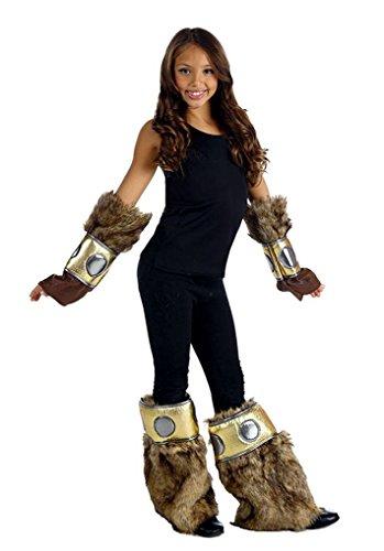 Viking Arm & Legwarmer Costume Accessory 4 pc Set (Fits Teen - Adult (Viking Costume Accessories)