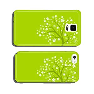 Tree with white flowers cell phone cover case iPhone6 Plus