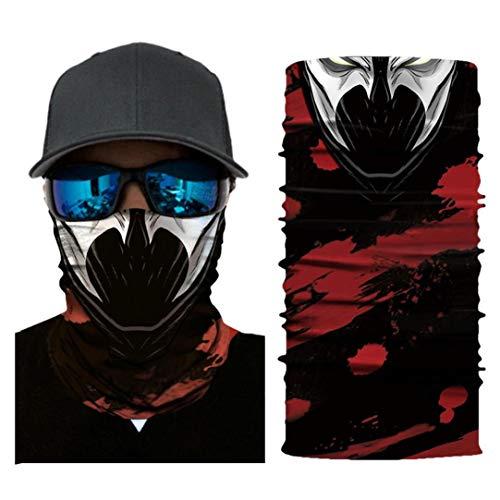 Joker Face Mask Binmer Cycling Motorcycle Head Scarf