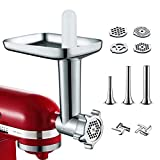 Metal Food Grinder Attachment for KitchenAid