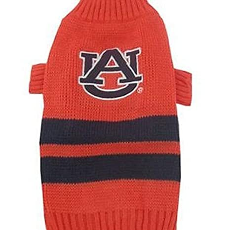 3e649b275 Amazon.com : AUBURN TIGERS Dog Pet EMBROIDERED Sweater ☆ ALL SIZES ☆ Licensed  NCAA (L) : Pet Supplies