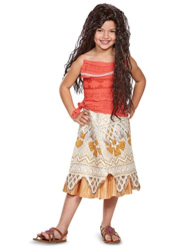 Disney Moana Costume, Medium (7-8) -