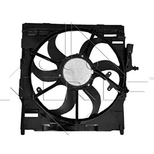 YYCOLTD OEM # 17427634466 Engine Radiator Cooling Fan Assembly w/Motor for X5 X6 F15 F16: