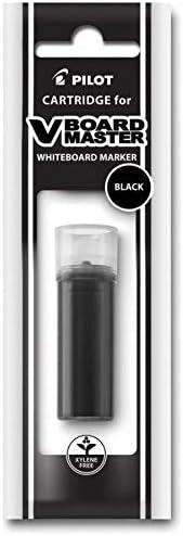 Black Pack of 12 Pilot V-Board Master BeGreen Dry-Erase Marker Refills