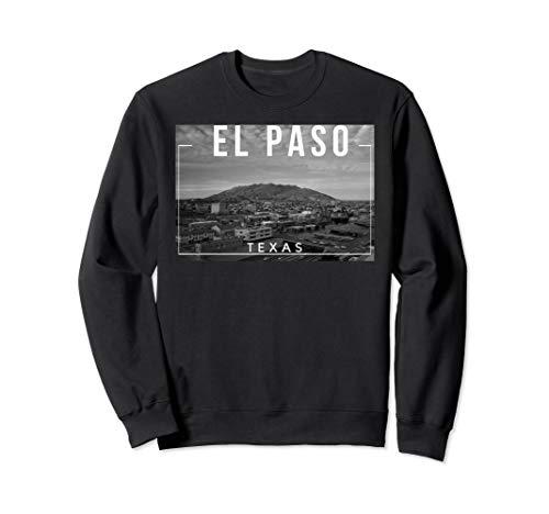 El Paso Texas TX Skyline Rio Grande Sweatshirt -