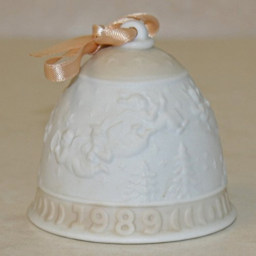 - Lladro 15616, Christmas Bell 1989 (Ornament)