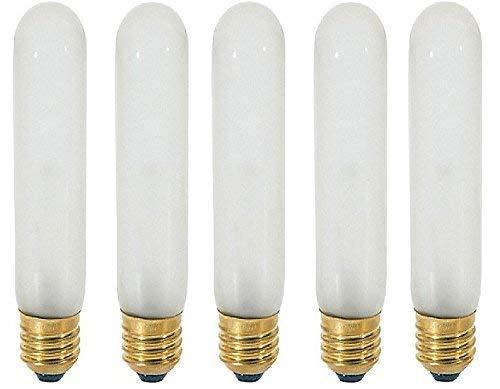 Sunlite 120-Volt 60-Watt T10 Medium Base Light Bulb, Frosted - 5 ()