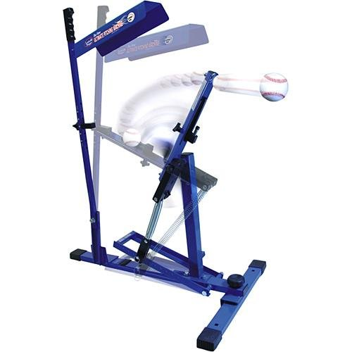 Pitcher Pitching Machine - LOUISVILLE SLUGGER-THE BLUE FLAME ULTIMATE PITCHING MACHINE