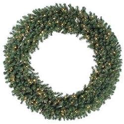 "Vickerman 84"" Douglas Fir Wreath with 400 Clear Lights"
