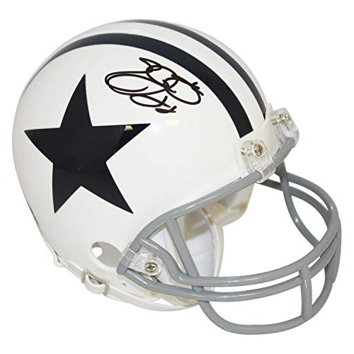 fceda5d1e3d Emmitt Smith Dallas Cowboys Autographed Signed Riddell White Thanksgiving  Day Mini Helmet - PSA/DNA Authentic