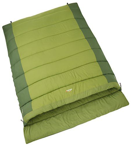 Vango Harmos Unisex Outdoor Double Sleeping Bag available in Treetops -...