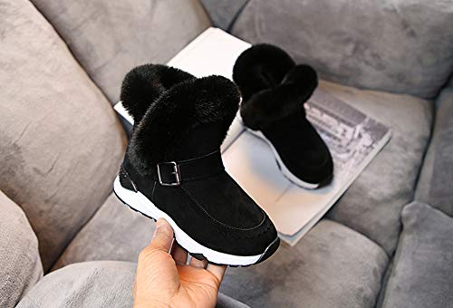 Topcloud Boys Girls Winter Boots Warm Ankle Boots Casual Outdoor Boots Snow Boots