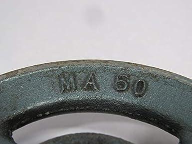 Maska MA50-1 1 Groove Sheave 1 Bore