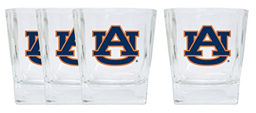 Auburn Tigers 4 Pack Short Glass - Glass Tigers Auburn