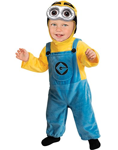 Rubie's Costume Despicable Me 2 Minion Romper, Blue/Yellow, Toddler 1-2