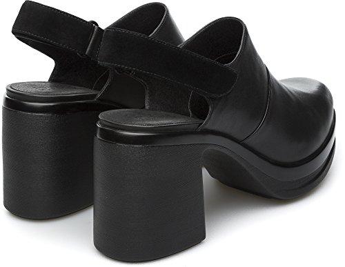 Camper Alice K200466-001 Zapatos de tacón Mujer Negro