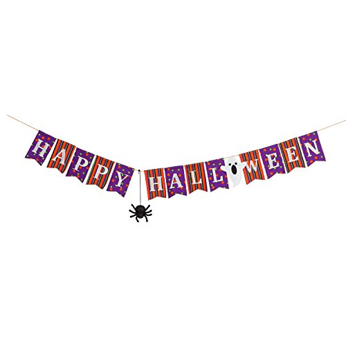 Evergreen Happy Halloween Seasonal Décor Banner for $<!--$14.95-->