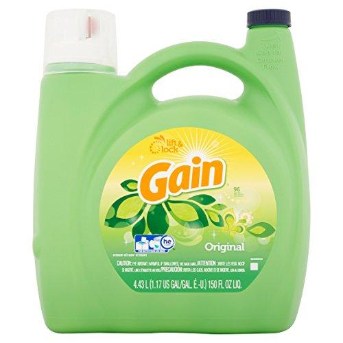 Gain HE Liquid Detergent , Original Fresh)