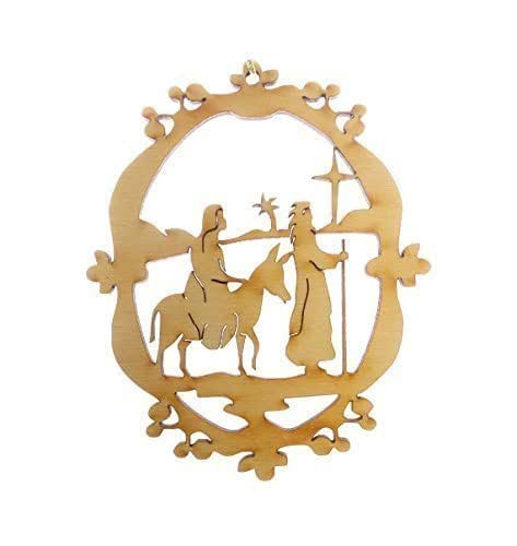 Amazon.com: Mary and Joseph Christmas Ornament ...