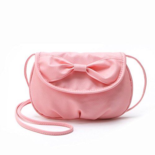 Manmade Bow Coin Shoulder Donalworld Pt6 Cute Bag Mini Leather Women BwaBvqWp