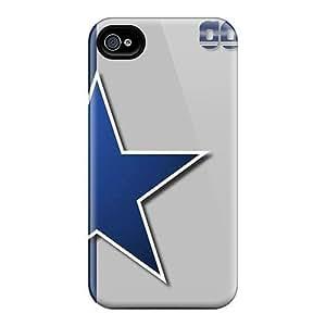 New Tpu Hard Case Premium iphone 5c Skin Case Cover(dallas Cowboys)