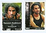 Sayid Jarrah Lost Archives trading card 2010 Rittenhouse #55 Naveen Andrews