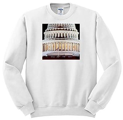 3dRose Danita Delimont - Washington DC - Close up Of The US Capitol Buildings Dome, Washington DC - Sweatshirts