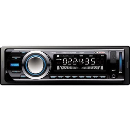 XO Vision XD103 FM and MP3 Stereo Receiver with USB Port and SD Card Slot by XO Vision