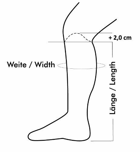 SUEDWIND Reit Stiefelschaft COMFORT FIT, schwarz, XST (52 cm/34 cm)