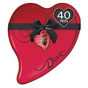 DOVE Valentine's Dark Chocolate Truffles