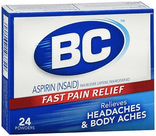BC Headaches Formula Pain Reliever Powders - 24ct, Pack of 2